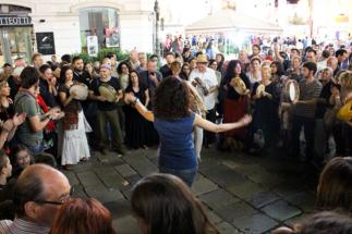 Festa di Paese nel Salento -Galatina Festa di San Paolo delle Tarante - Pizzica e Ronda