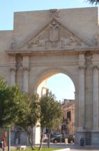 Lecce: giardino barocco-Porta-Napoli