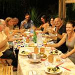 Cena e musica in piacevole compagnia