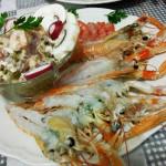 Scampi, Gamberoni, Ostriche a cena nel b&b IreneMarchese