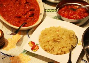 cibo sano e genuino nel b&b IreneMarchese nel Salento - Gallipoli