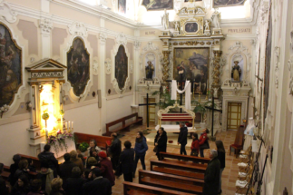 Sepolcri del Giovedì Santo a Taviano, Ugento, Gallipoli - notizie dal b&b IreneMarchese
